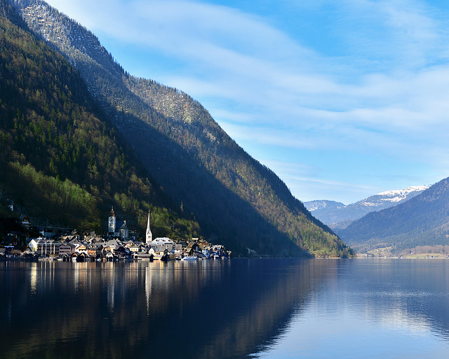 Vistas de Hallstatt, el pueblo más bonito de Austria