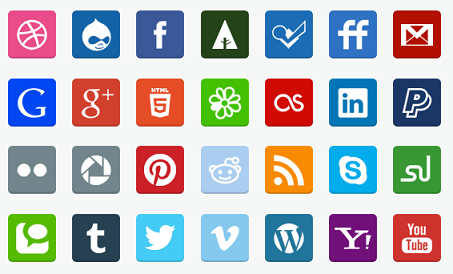 The 25 Best Free Beautiful Social Media Icon Packs for 2020 7