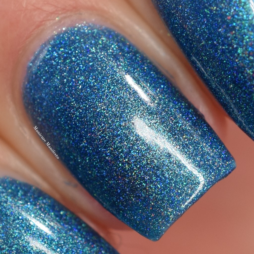 Girly Bits Blue Holo