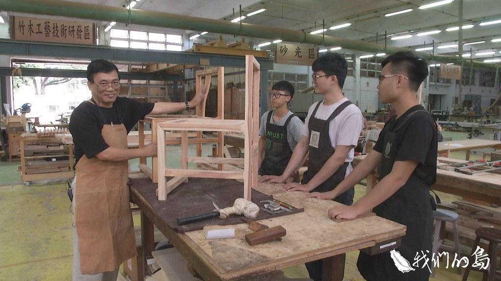 958-3-4屏科大黃俊傑老師帶著得意門生,共同以台灣杉進行創作,並試著為節創造新定義。