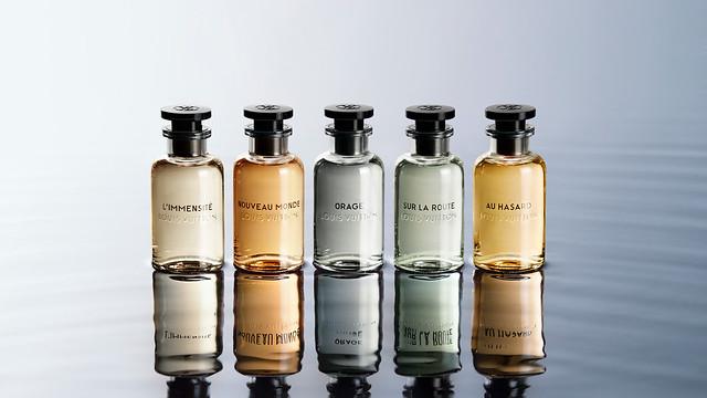 La primera colección de Perfumes Louis Vuitton para Hombre