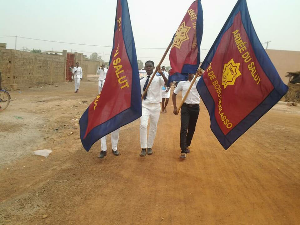 Images from The Salvation Army in Burkina Faso