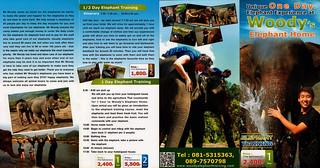 Woody Elephant Home Chiang Mai Thailand Brochure 2