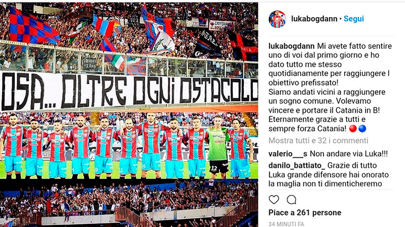Il post di Luka Bogdan
