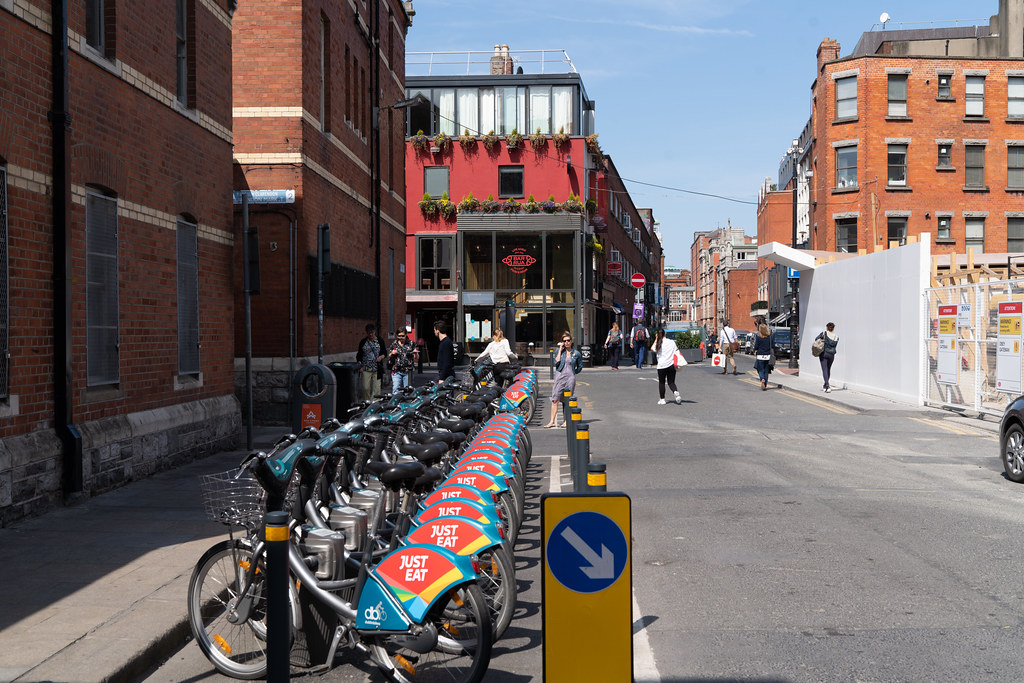 DUBLIN BIKES DOCKING STATION 01 [HAS BEEN RELOCATED TO CLARENDON ROW] 001
