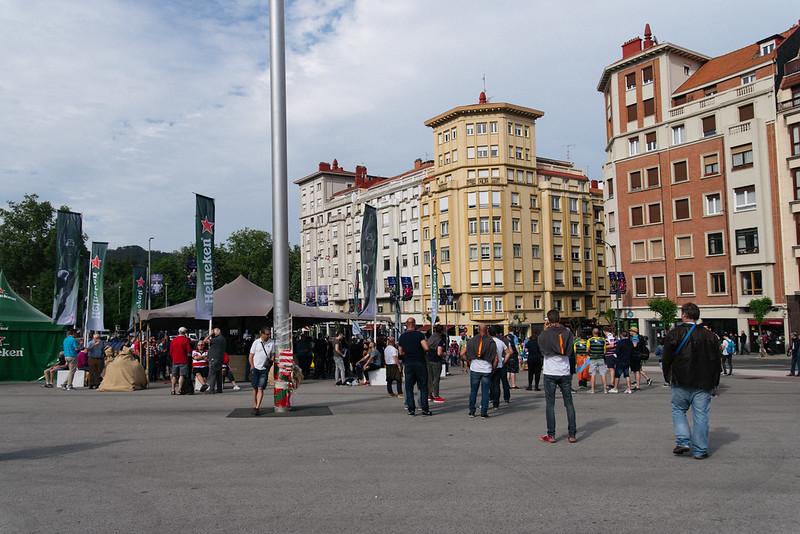 サン・マメス前広場