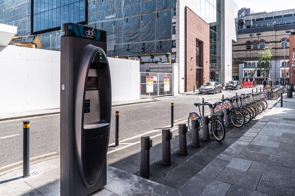 DUBLIN BIKES DOCKING STATION 01 [HAS BEEN RELOCATED TO CLARENDON ROW] 003