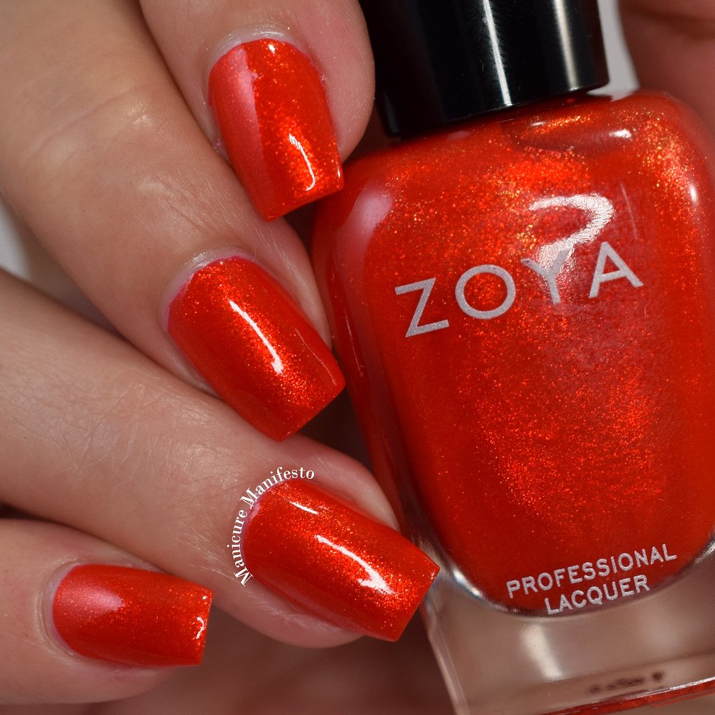 Zoya Marigold review