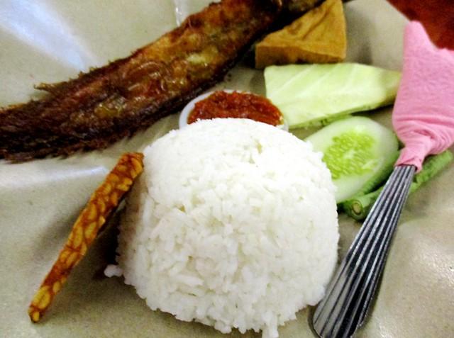 Penyet Delta rice