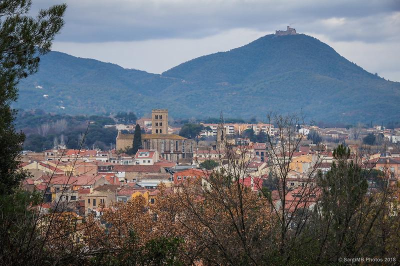 Breda y el castillo de Montsoriu