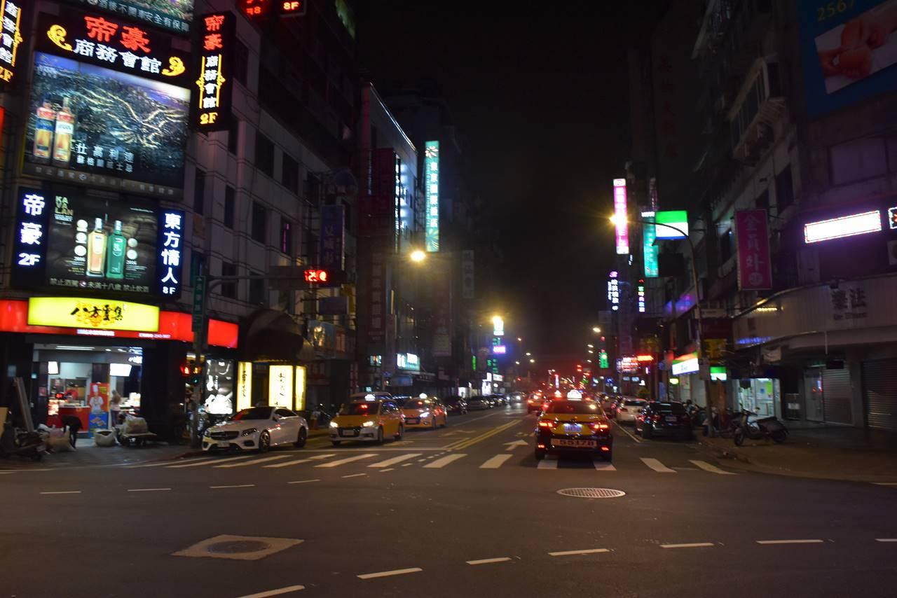 深夜の台北