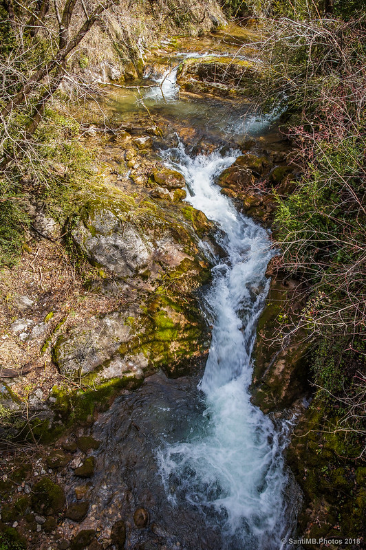 Torrent de la Font del Faig en Cal Cerdanyola