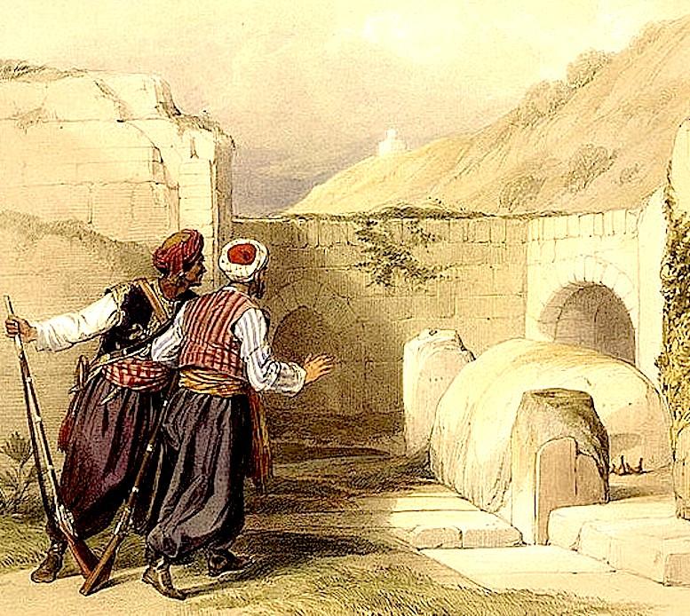 Гробница Иосифа в Святой Земле.