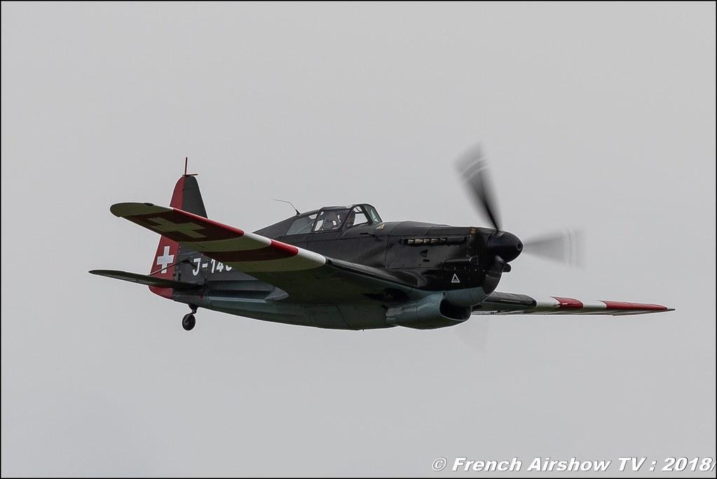 Morane Saulnier MS.406 J-143 , 32e édition d'Airexpo Muret-Lherm , Airexpo Muret 2018 , Canon EOS , Sigma France , contemporary lens , Meeting Aerien 2018