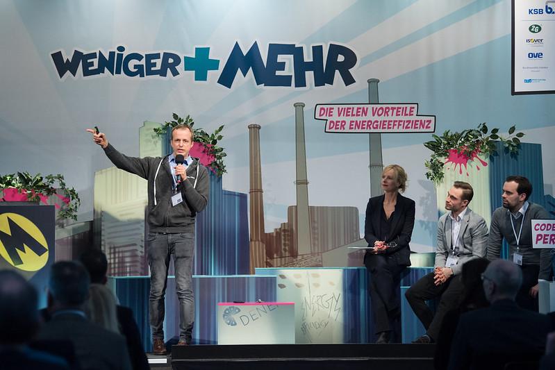 德國能源效率推動協會(DENEFF)舉辦2018年會。圖片來源:DENEFF/ Britta Pedersen