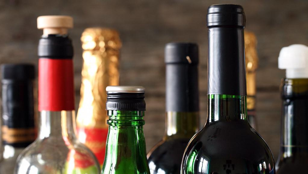 Image of wine bottles