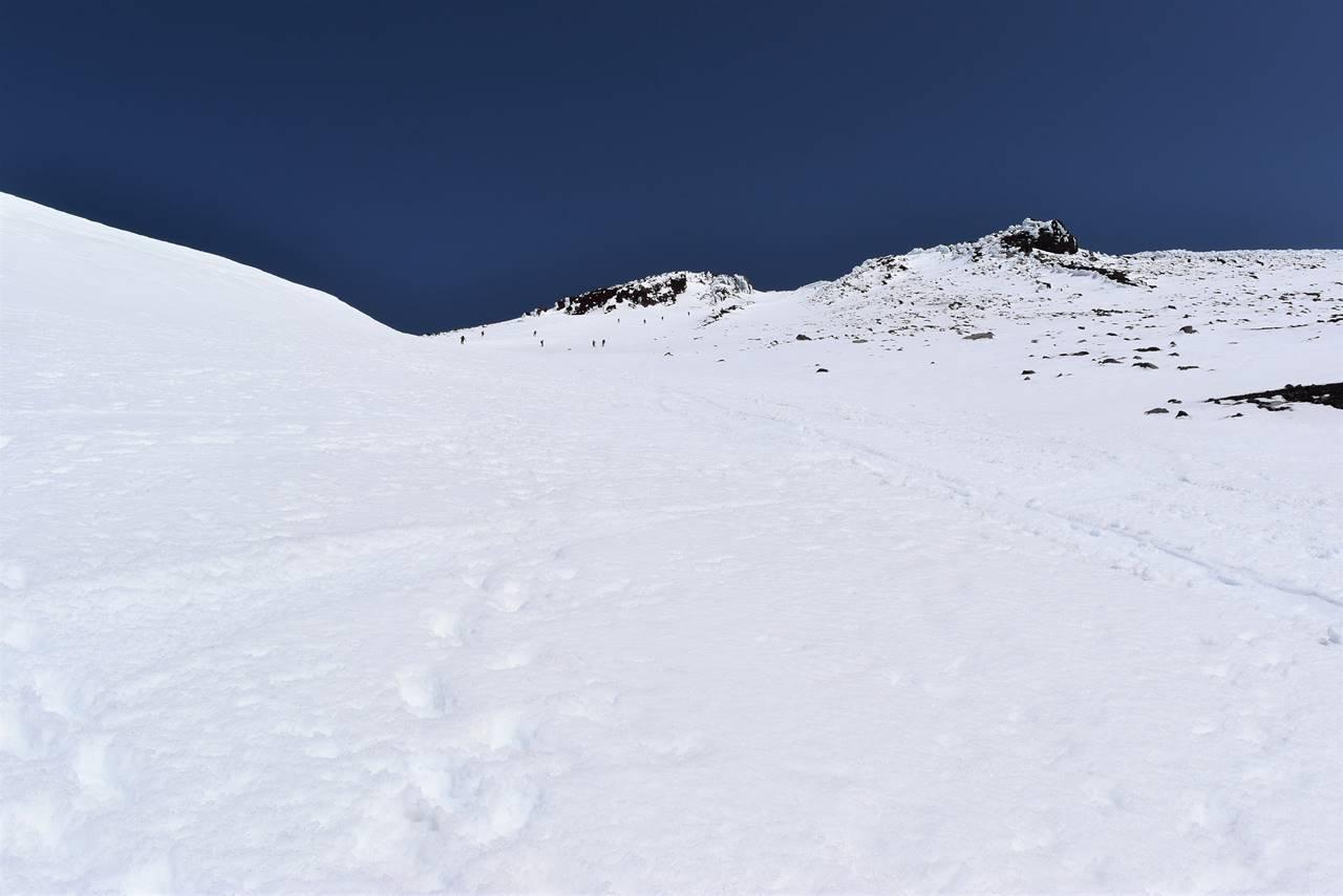 4月の富士山登山
