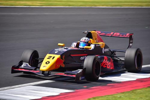 Neil Verhagen, Formula Renault Eurocup, Silverstone 2018