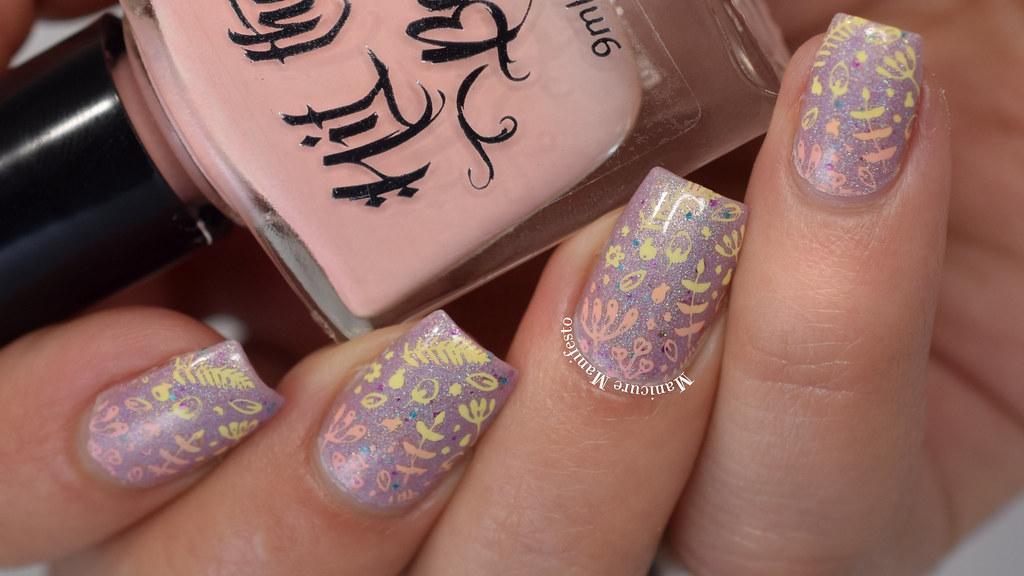 Gradient Nail Stamping