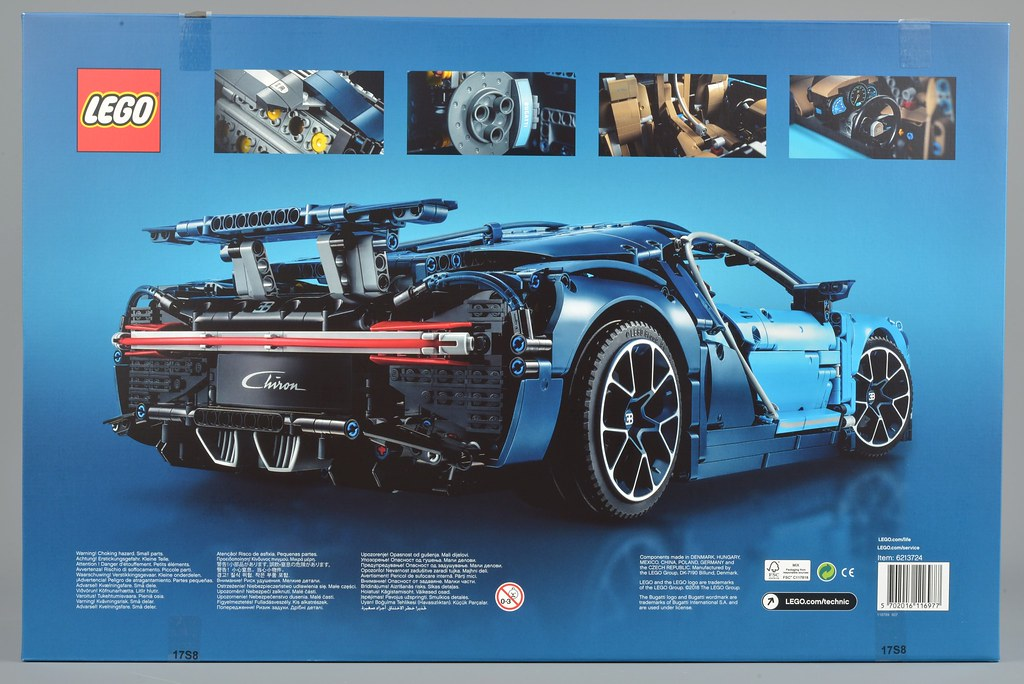 lego technic 42083 bugatti chiron review brickset lego set guide and database. Black Bedroom Furniture Sets. Home Design Ideas