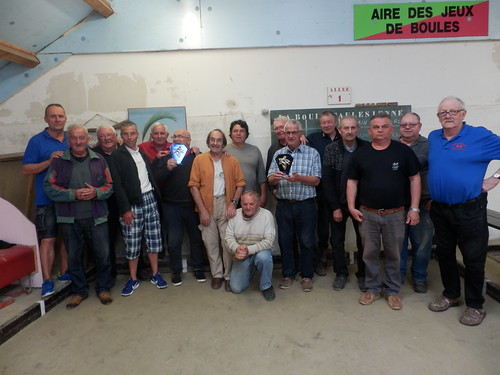 26/05/2018 - Taulé : Concours de boules plombées en doublette mêlée
