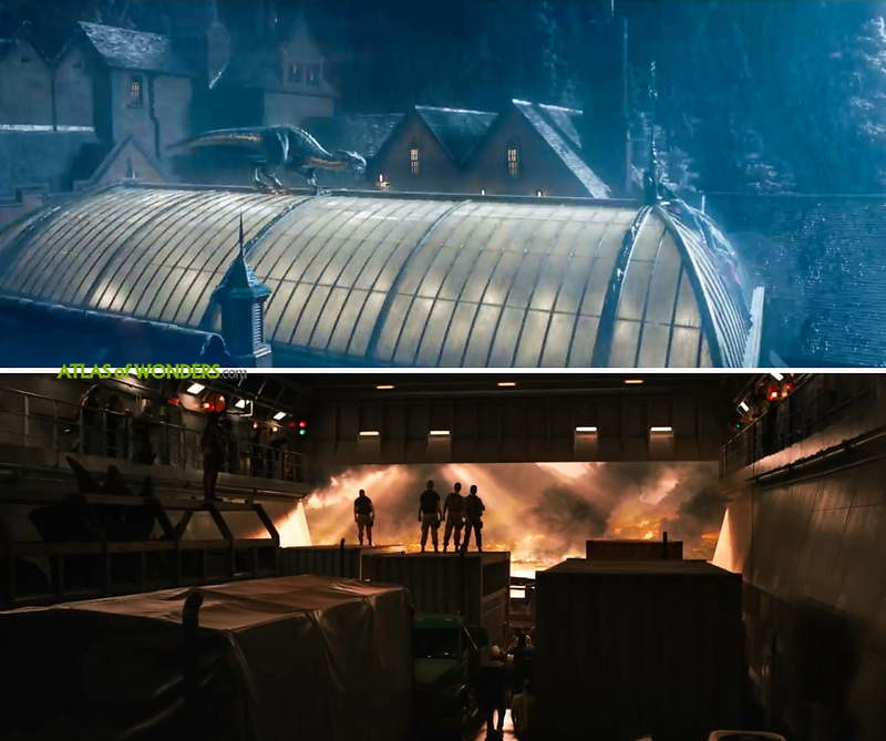 Jurassic World Fallen Kingdom filemd in England
