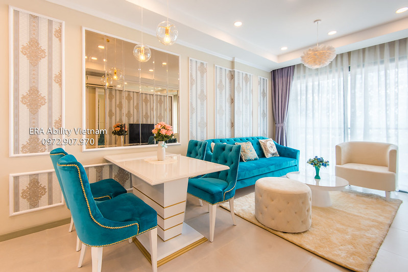 Goldview apartment district 4 Saigon for rent
