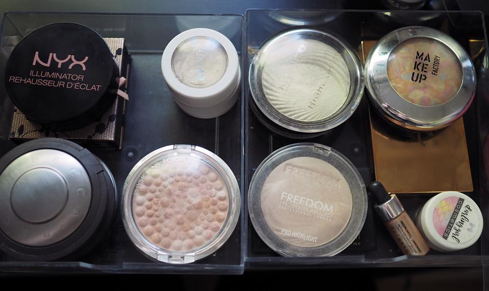 highlighter declutter makeup kevätsiivous meikki
