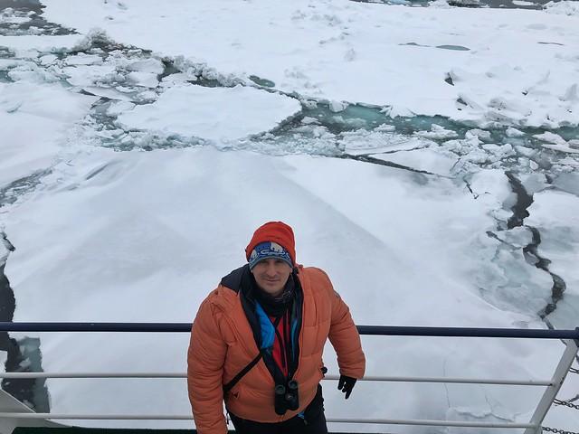 Sele en la Expedición Oso Polar Pangea en Svalbard