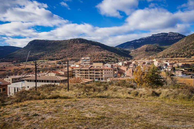 Parte nueva de Avià desde lo alto del Tossal