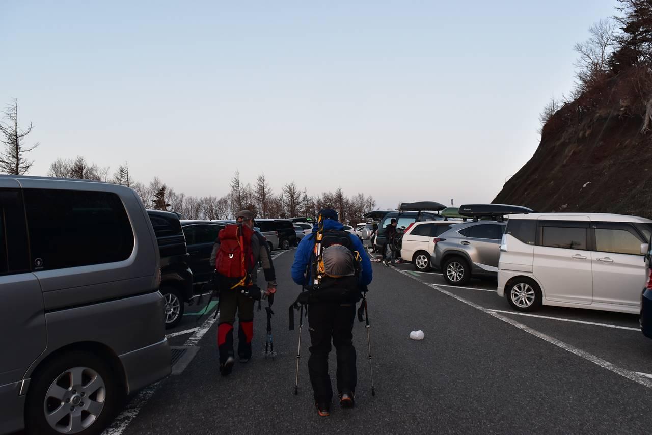 富士山 富士宮口5合目駐車場