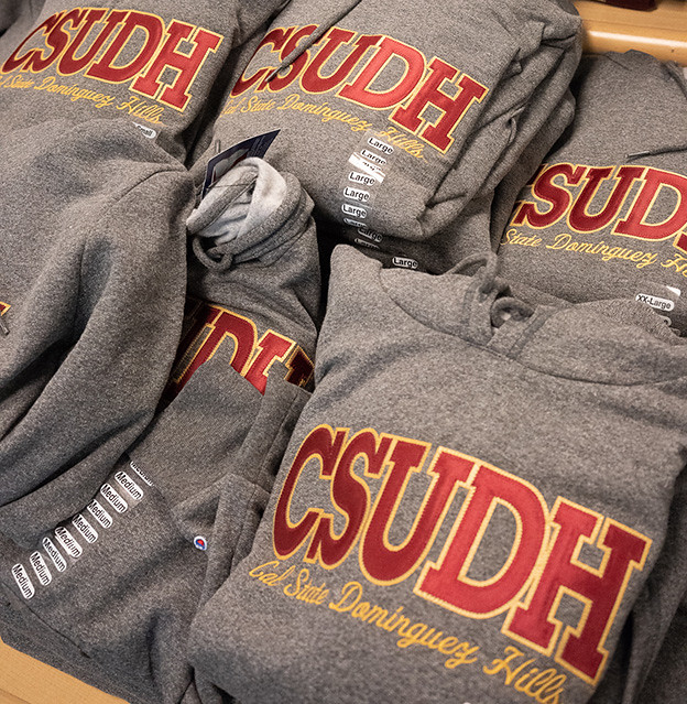 Toro sweatshirts for Toro Tuesday at CSUDH