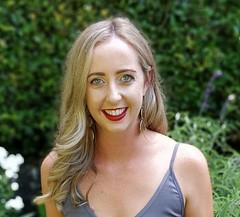Erin Annabell, representing the Taranaki Irish Club