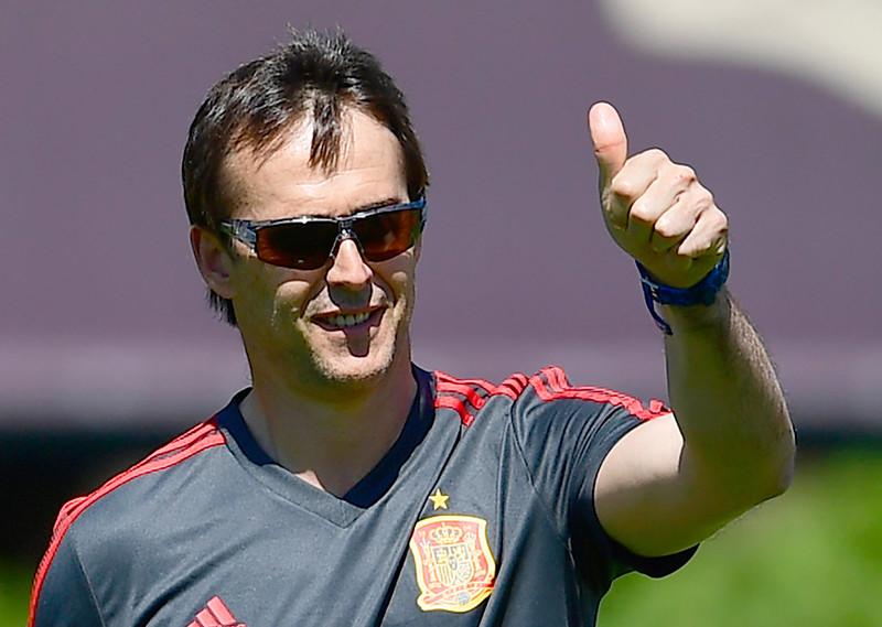 西班牙總教練Julen Lopetegui將擔任皇馬下個球季的總教練。(資料照,AFP授權)