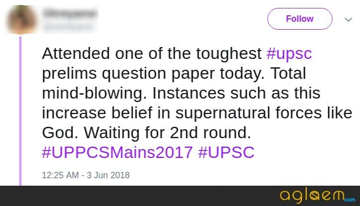 USPC Prelims 2018 Tougher Than Last Year; Cut Off may dip this year