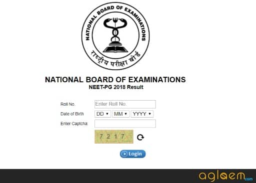 NEET PG 2019 Result  Check Here!