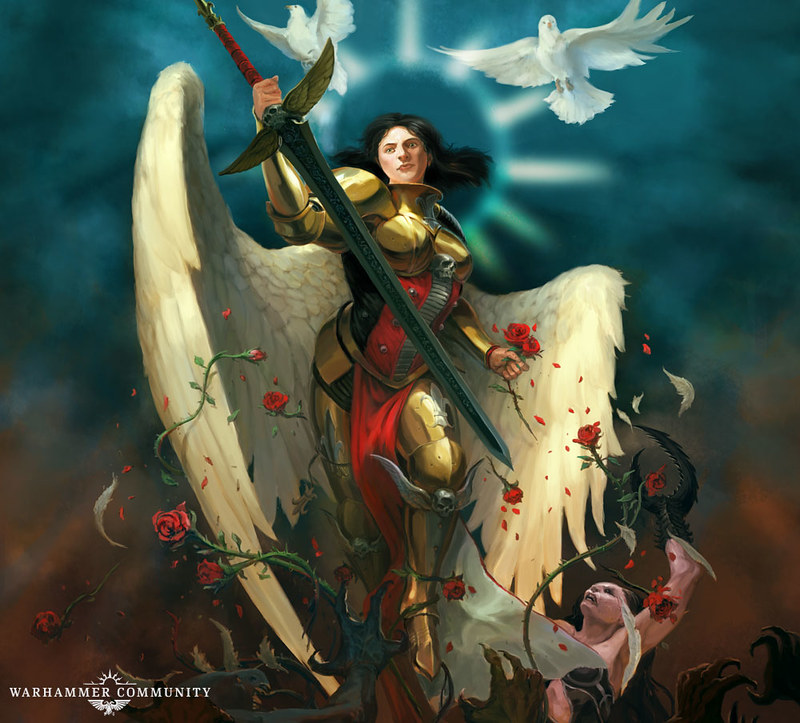 «Целестина: Живая Святая» Энди Кларка, рисунок обложки