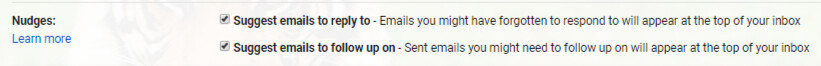 Nudge Gmail