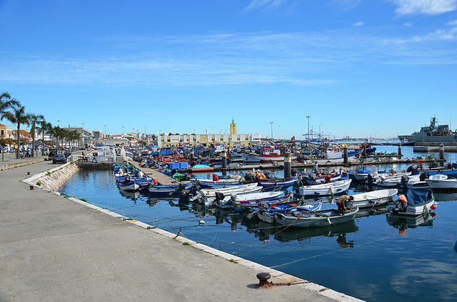 Harbour, Setubal, Portugal