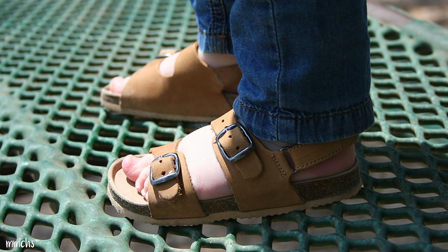 Sandalias de calidad para niños