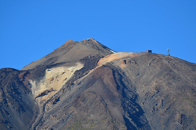 Mount Teide upper cable car station, Tenerife