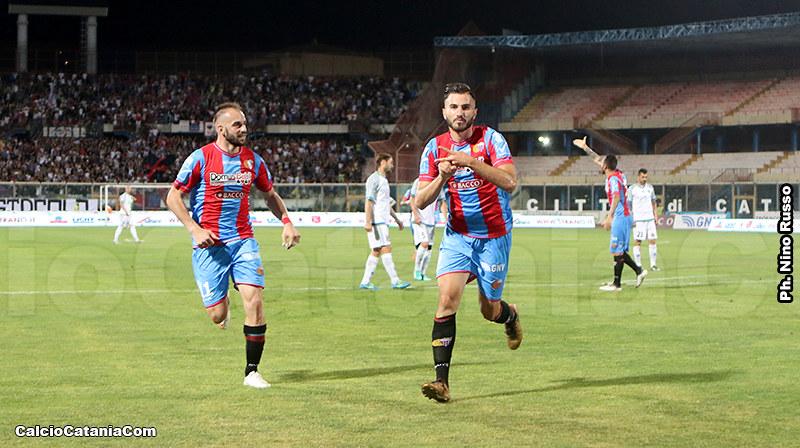 Barisic centra il primo gol della gara
