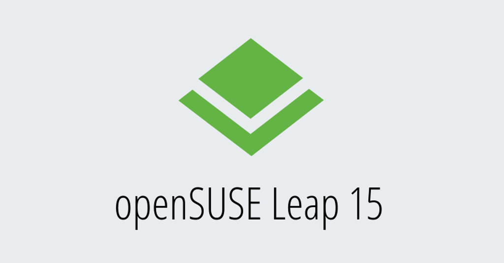 openSUSELeap15