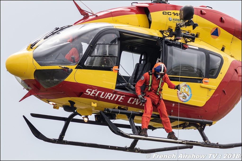 Eurocopter EC-145 B SC sécurité Civile , 32e édition d'Airexpo Muret-Lherm , Airexpo Muret 2018 , Canon EOS , Sigma France , contemporary lens , Meeting Aerien 2018