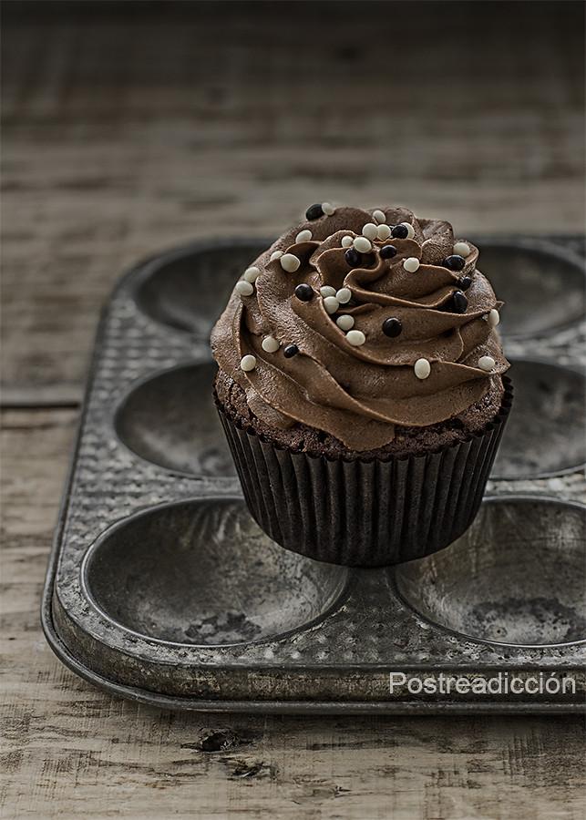 cupcakes cerveza negra y chocolate