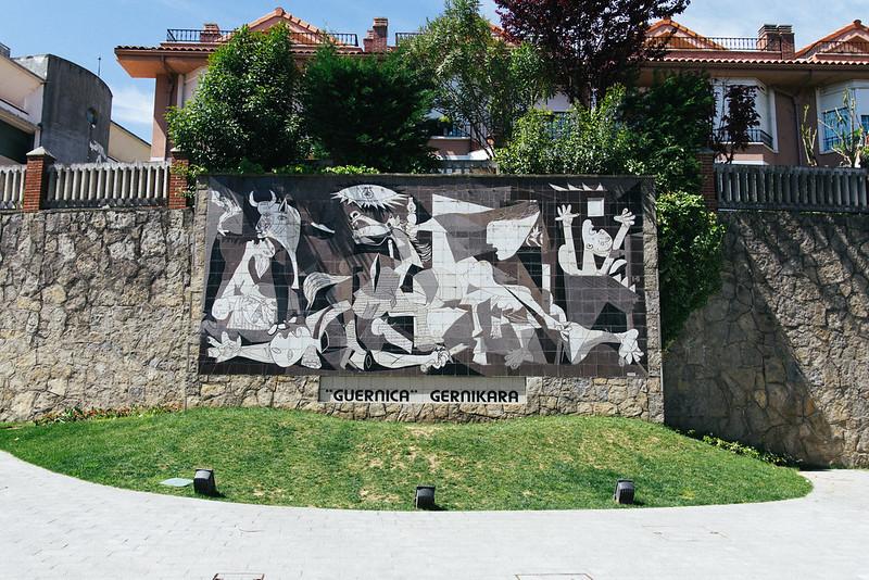 ゲルニカ壁画