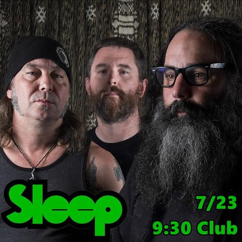 Sleep at 9:30 Club