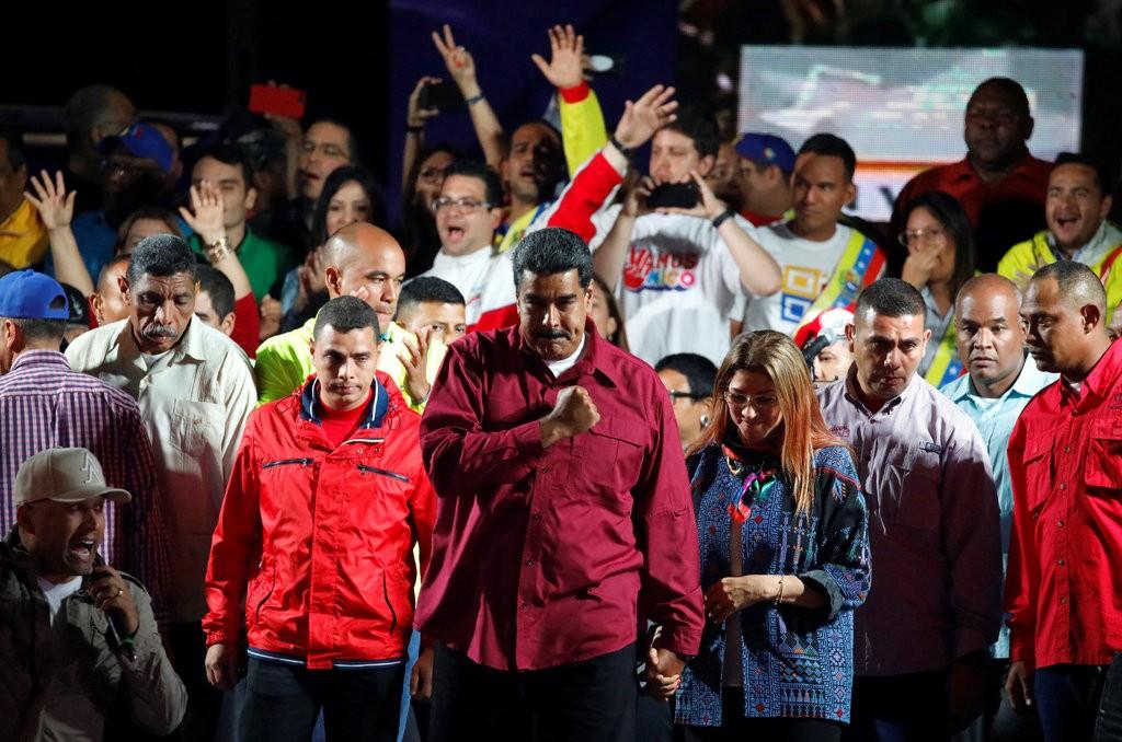 马杜罗再度赢得委内瑞拉总统选举。(图片来源:路透社)