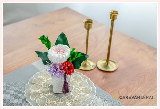 仏花のフラワーアレンジメント
