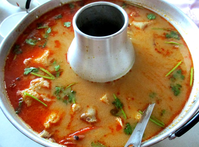 Flavours Thai Kitchen creamy tom yam soup